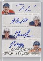 Jordan Eberle, Ryan Nugent-Hopkins, David Perron, Sam Gagner /35
