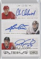 Chris Chelios, Guy Hebert, Jeremy Roenick /50