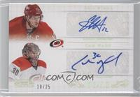 Cam Ward, Eric Staal /25