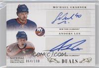 Anders Lee, Michael Grabner /100