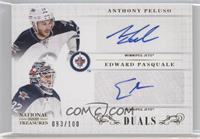Anthony Peluso, Edward Pasquale /100