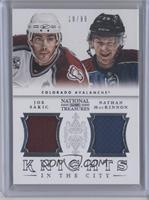 Joe Sakic, Nathan MacKinnon /99