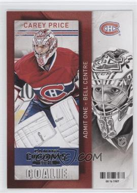 2013-14 Panini Playoff Contenders - [Base] #63 - Carey Price