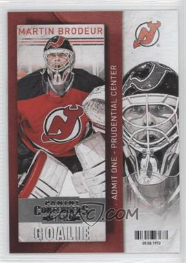 2013-14 Panini Playoff Contenders - [Base] #65 - Martin Brodeur