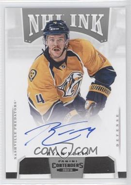 2013-14 Panini Playoff Contenders NHL Ink #I-REL - Ryan Ellis