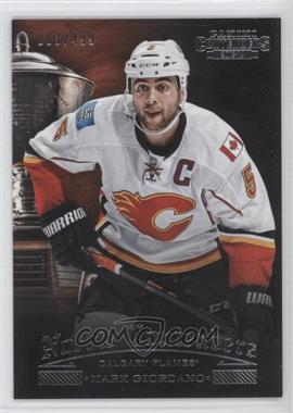 2013-14 Panini Playoff Contenders Norris Contenders #NC-3 - Mark Giordano /499