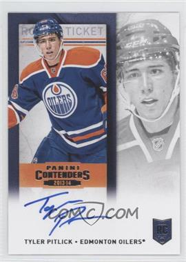 2013-14 Panini Playoff Contenders Rookie Ticket Signatures [Autographed] #223 - Tyler Pitlick