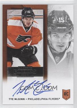 2013-14 Panini Playoff Contenders Rookie Ticket Signatures [Autographed] #248 - Tye McGinn