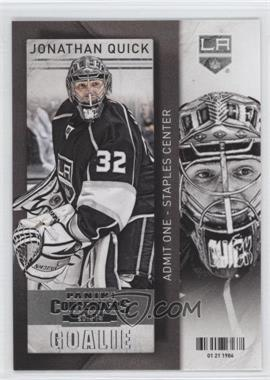2013-14 Panini Playoff Contenders #28 - Jonathan Quick