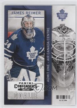 2013-14 Panini Playoff Contenders #43 - James Reimer