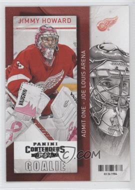 2013-14 Panini Playoff Contenders #46 - Jimmy Howard
