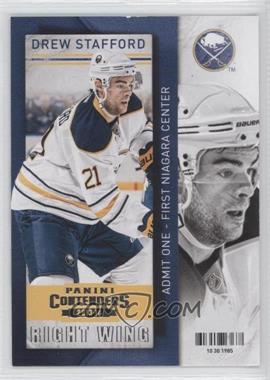 2013-14 Panini Playoff Contenders #98 - Drew Stafford