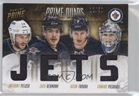 Anthony Peluso, Edward Pasquale, Jacob Trouba, Zach Redmond /50