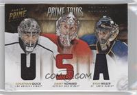 Jimmy Howard, Jonathan Quick, Ryan Miller /100