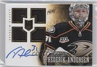 Prime Rookies Quad - Frederik Andersen /199