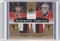 Corey Crawford, Duncan Keith /25
