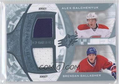 2013-14 SPx Rookie Materials Combos #RM2-CAN - Alex Galchenyuk, Brendan Gallagher