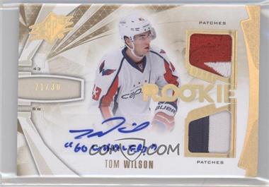 2013-14 SPx Spectrum Rookies #196 - Tom Wilson /30