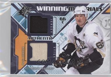 2013-14 SPx Winning Materials #WM-ML - Mario Lemieux