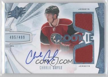 2013-14 SPx #173 - Charlie Coyle /499