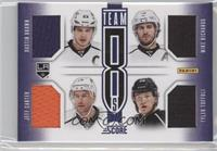 Jeff Carter, Tyler Toffoli, Willie Mitchell, Alec Martinez, Dustin Brown, Dwigh…