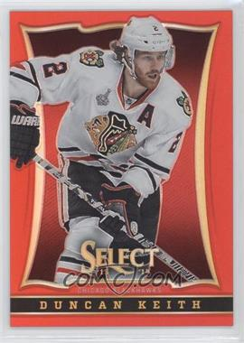 2013-14 Select - [Base] - Black Friday Red Prizm #4 - Duncan Keith /35