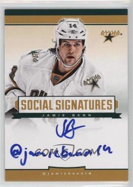 2013-14 Totally Certified - Social Signatures #SS-JB - Jamie Benn