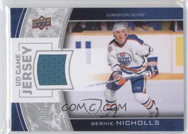 2013-14 Upper Deck - Series One UD Game Jersey #GJ-BN - Bernie Nicholls