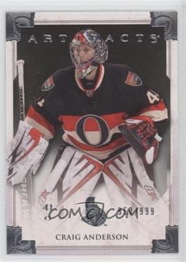 2013-14 Upper Deck Artifacts #108 - Craig Anderson /999