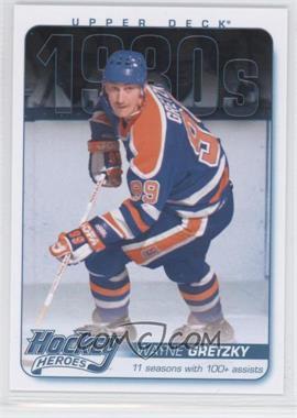 2013-14 Upper Deck Hockey Heroes 1980s #HH40 - Wayne Gretzky