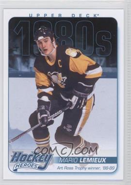 2013-14 Upper Deck Hockey Heroes 1980s #HH50 - Mario Lemieux