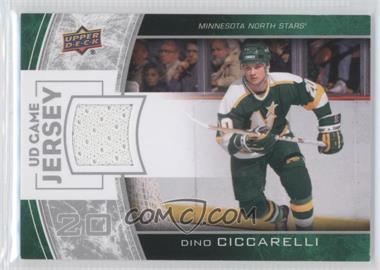 2013-14 Upper Deck Series One UD Game Jersey #GJ-DC - Dino Ciccarelli
