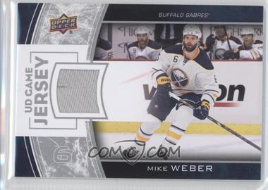 2013-14 Upper Deck Series One UD Game Jersey #GJ-MW - Mike Weber
