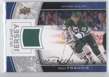 2013-14 Upper Deck Series One UD Game Jersey #GJ-RF - Ron Francis