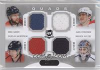 Braden Holtby, Alexander Ovechkin, Nicklas Backstrom, Mike Green /10