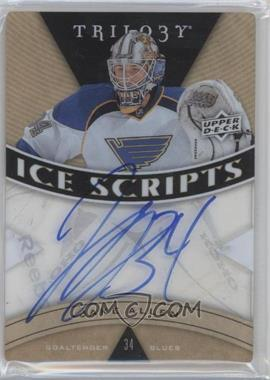 2013-14 Upper Deck Trilogy Ice Scripts #IS-JA - Jake Allen