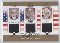 Ryan Miller, Tim Thomas, Jonathan Quick