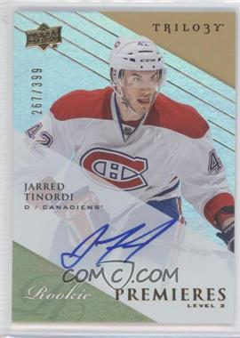 2013-14 Upper Deck Trilogy #168 - Jarred Tinordi /399