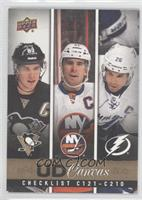 John Tavares, Sidney Crosby, Martin St. Louis