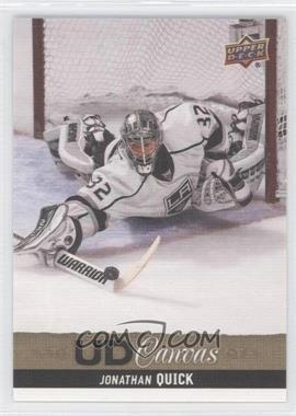 2013-14 Upper Deck UD Canvas #C80 - Jonathan Quick