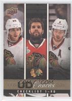 Patrick Kane, Corey Crawford, Duncan Keith