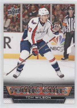 2013-14 Upper Deck #212 - Tom Wilson
