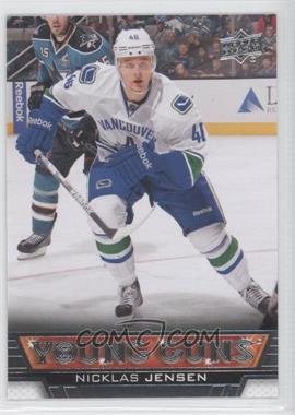 2013-14 Upper Deck #249 - Nicklas Jensen