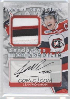 2013 In the Game Draft Prospects - Autograph and Memorabilia - Silver #AM-SM - Sean Monahan