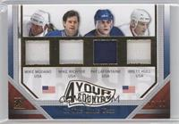 Mike Modano, Mike Richter, Pat LaFontaine, Brett Hull /20