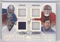 Patrick Roy, Dominik Hasek, Curtis Joseph, Mike Richter /5