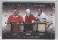 Gump Worsley, Bernie Parent, Gerry Cheevers #9/12