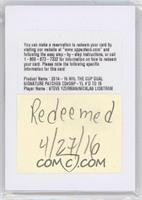 Steve Yzerman, Nicklas Lidstrom /15 [REDEMPTION Being Redeemed]