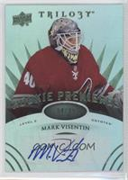 Level 2 Rookie Premieres Autographs - Mark Visentin /99