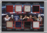 Terry Sawchuk, Lanny McDonald, Phil Esposito, Ray Bourque, Bernie Parent, Darry…